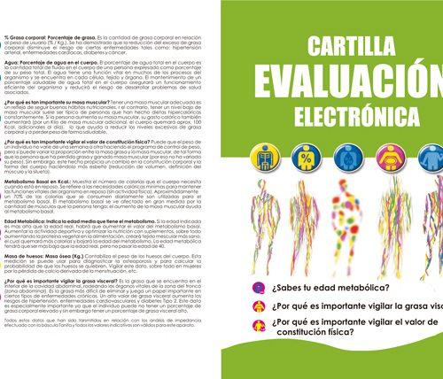 Cartilla Evaluación Electrónica Tanita