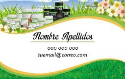 tarjeta de visita herbalife