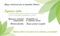 Tarjeta visita Herbalife