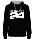 impresionarte-xativa-nutricion-herbalife-sudadera-negra-blanca-batido-h24-deporte-mujer-senora