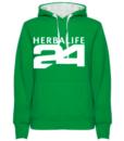 impresionarte-xativa-nutricion-herbalife-sudadera-verde-manzana-cesped-green-batido-distribuidor-miembro-uniforme-camisa-camiseta-vestuario