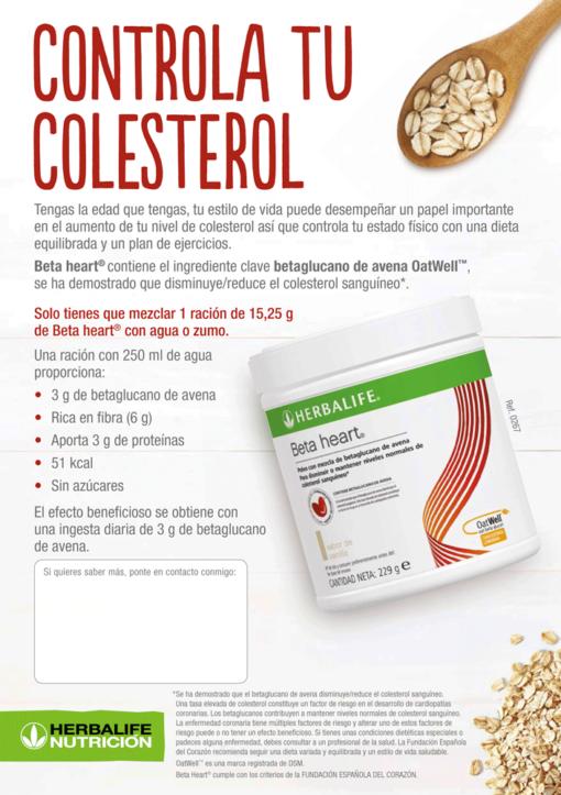 impresionarte-xativa-nutricion-herbalife-vida-sana-flyer-volante-publicidad-folleto-prospecto-batido-colesterol-beta-heart-agua-zumo-ingredientes-avena-controla-salud