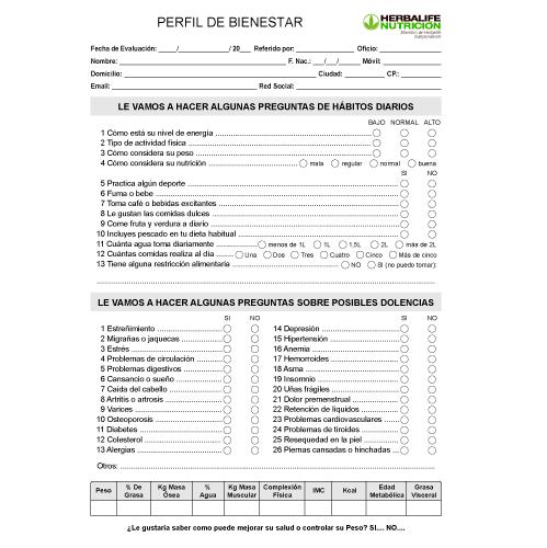 impresionarte-xativa-nutricion-herbalife-ficha-documento-hoja-papeleria-perfil-bienestar-test-cuestionario-preguntas-habitos-diarios-saludable-evaluacion-control