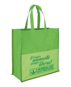 impresionarte-xativa-nutricion-herbalife-mochila-bolsa-bolsa-verde-compra-lista-casual-diario-bolsillo-tienda-plegable-transporte-viaje-verano-playa