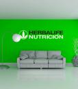 impresionarte-xativa-nutricion-herbalife-vinilo-rotulo-adhesivo-pegatina-letrero-grafica-decorativo-centro-bienestar-verde-oficina-sala-espera-decoracion-interior-interiorismo