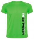 Impresionarte-Xativa-Nutricion-Herbalife-camiseta-tecnica-H24-unisex-campeones-gimnasio-rutina-verde-sport