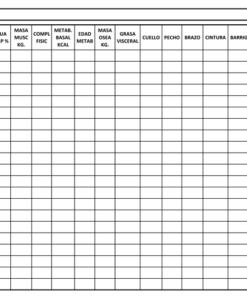 Impresionarte-Xativa-Nutricion-Herbalife-seguimiento-ficha-papeleria-apaisada-tabla-medidas-evolucion-control-peso-grasa-muscular-citas-fisico-corporal-estudio