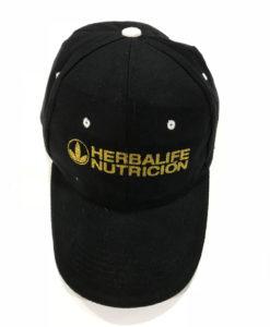 Impresionarte-Xativa-Nutricion-Herbalife-gorra-visera-dorado-2018-negra-gold-purpurina-algodon-sol