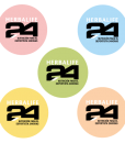 Impresionarte-Xativa-Distribuidores-Herbalife-Nutricion-Imprenta-Chapas-Pins-Pastel-Primavera-Deporte-Colores-I-Love-H24-Bienestar-Rosa-Azul-Complemento-Centro-Clientes-Oficina-Naranja-Verde