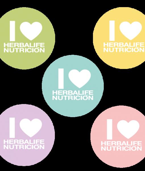 Impresionarte-Xativa-Distribuidores-Herbalife-Nutricion-Imprenta-Chapas-Pins-Pastel-Primavera-Princesa-Colores-I-Love-Hbl-Miembro-Rosa-Azul-Complemento-Trabajo-Ropa-Accesorio-Naranja-Verde