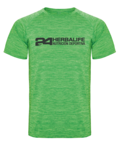 Impresionarte-Xativa-Herbalife-Nutricion-Camiseta-deporte-hombre-mujer-unisex-space-dye-tecnica-transpirable-sudor-tecnologia-fina-verano-ella-el-moda-gimnasio-publicidad-ejercicio-rapido-secado