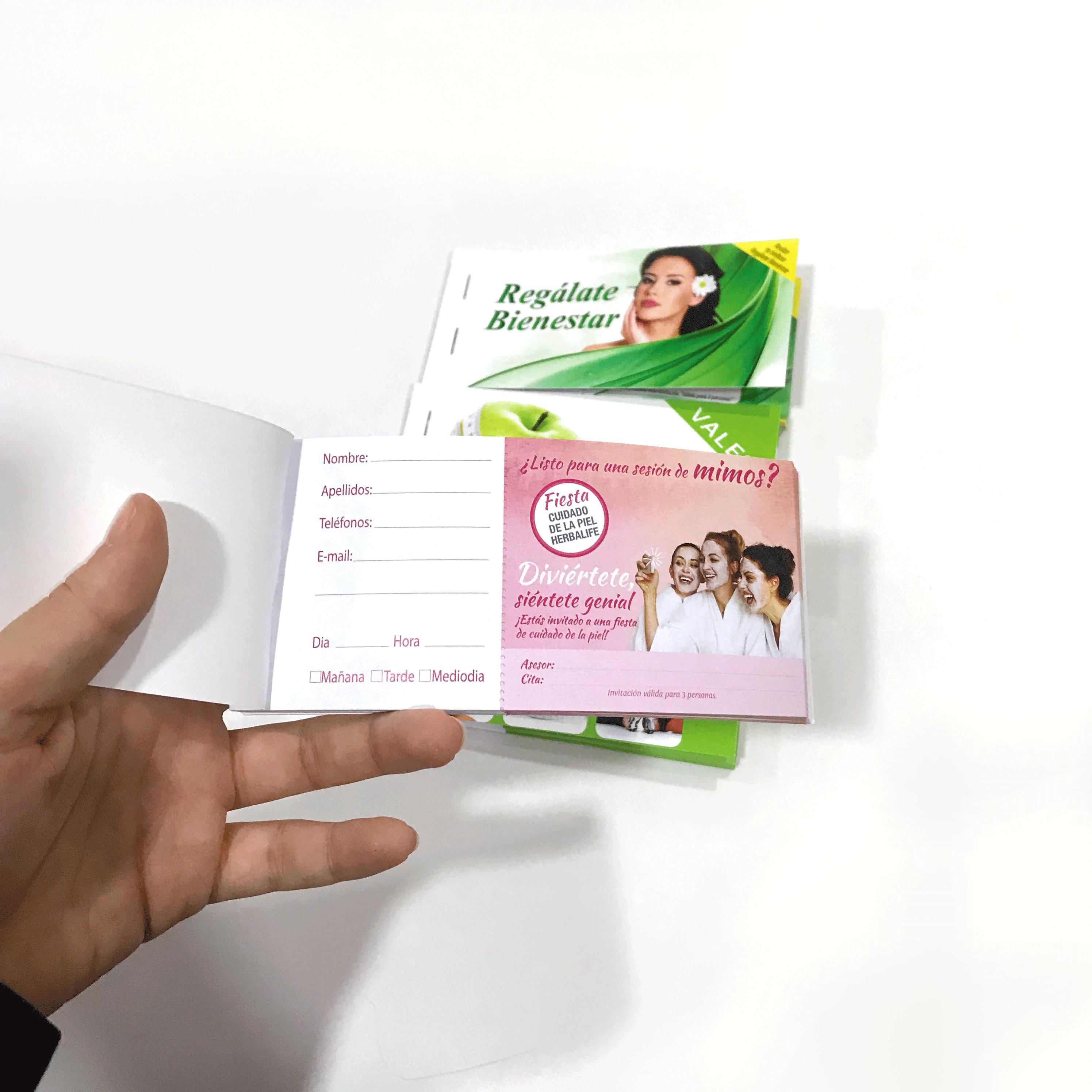 Impresionarte Xativa Nutricion Herbalife Talonario Mini
