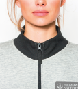 Impresionarte-Xativa-Herbalife-Nutricion-Chaqueta-Grey-Mujer-Sweater-Sueter-Sudadera-Top-Arriba-Moda-Rebajas-Elegante-Gris-Perla-Antracita-Marengo