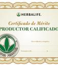 Impresionarte-Distribuidores-Herbalife-Xativa-Asesores-Nutricion-Diploma-Certificado-Reconocimiento-Merito-Productor-Calificado-Qualified-Producer