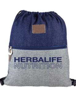 Impresionarte-Distribuidores-Herbalife-Xativa-Asesores-Nutricion-Herbalife-Bolsa-Bolso-Mochila-Saco-Dual-Vaquera-Jeans-Tejano-Denim-Multiusos