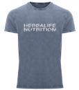 Impresionarte-Distribuidores-Herbalife-Xativa-Asesores-Nutricion-Herbalife-Camiseta-Stone-Shirt-Negra-Manga-Corta-Uniforme-Plateado-Silver
